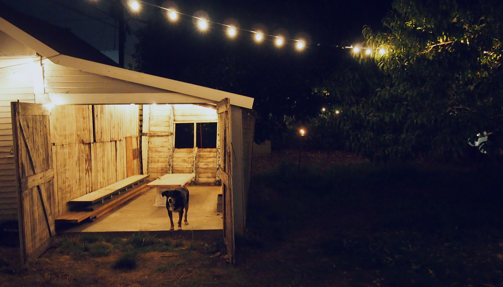 The Farmhouse backyard by @hrrrthrrr