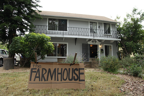 Farmhouse Conf Front Yard Sign by Tj Nelson